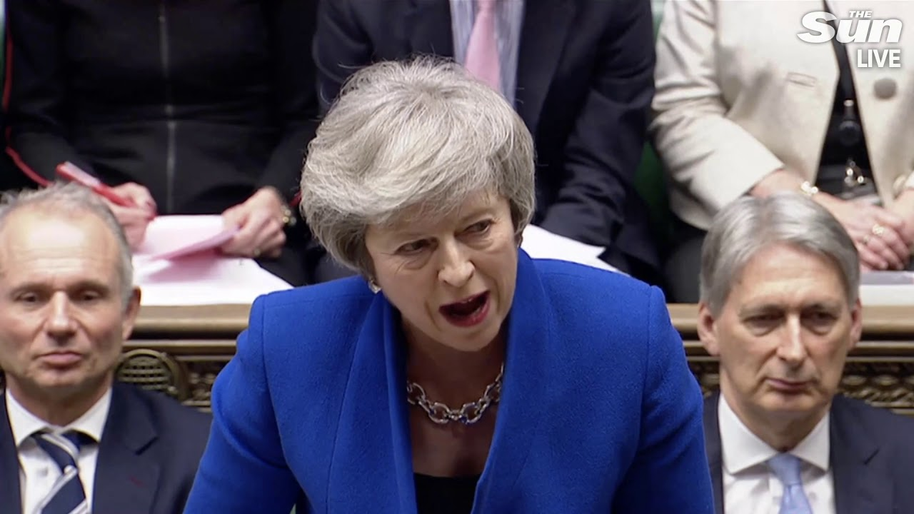 PMQs: Theresa May faces questions after Brexit deal defeat