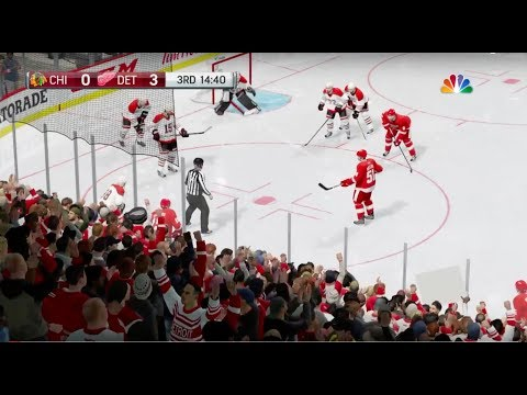 NHL® 18 Beta Blackhawks at Red Wings Part 2