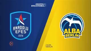 #EuroLeague 2. Hafta: Anadolu Efes - Alba Berlin