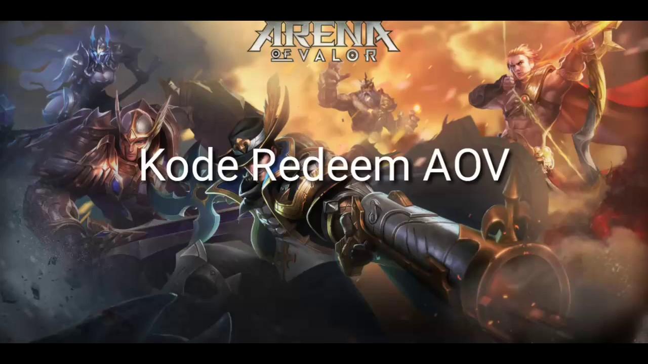 Redeem Code Kristal, Skin dan Hero Permanent Garena AOV