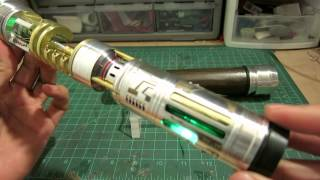 "ArkLight Arsenal Build Log Video --""Rhabdos"" custom lightsaber by Goodman"