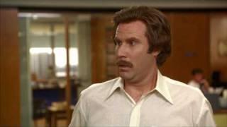Anchorman-Ron Burgundy has an Erection