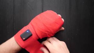 How to place your trackers into hand wraps!
