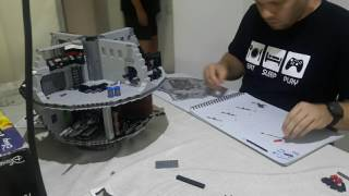 Lego Star Wars - Death Star Build - Time-lapse - Phase 8