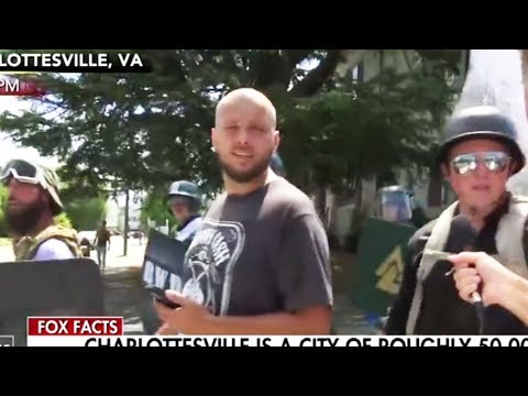 """Charlottesville Neo-Nazi: """"F*@king Jew Lovers Are Gassing Us"""""""