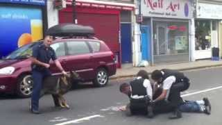COPS UK-Metropolitan Police Dog & Helicopter Catch Thief.