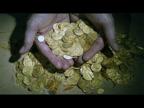 9 Kilo Altın Define Bulundu (2 Bin Sikke)