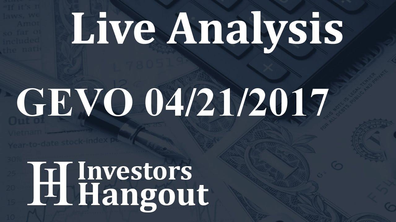 Gevo Stock Quote Gevo Stock Live Analysis 04212017  Youtube