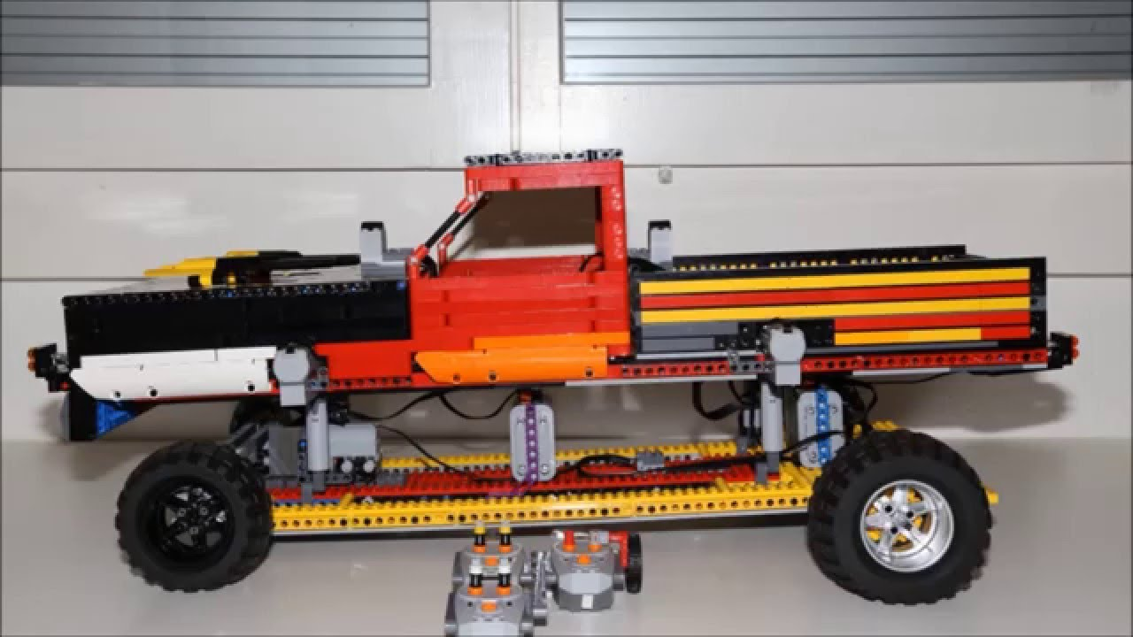 8 pick up low rider lego technic youtube. Black Bedroom Furniture Sets. Home Design Ideas