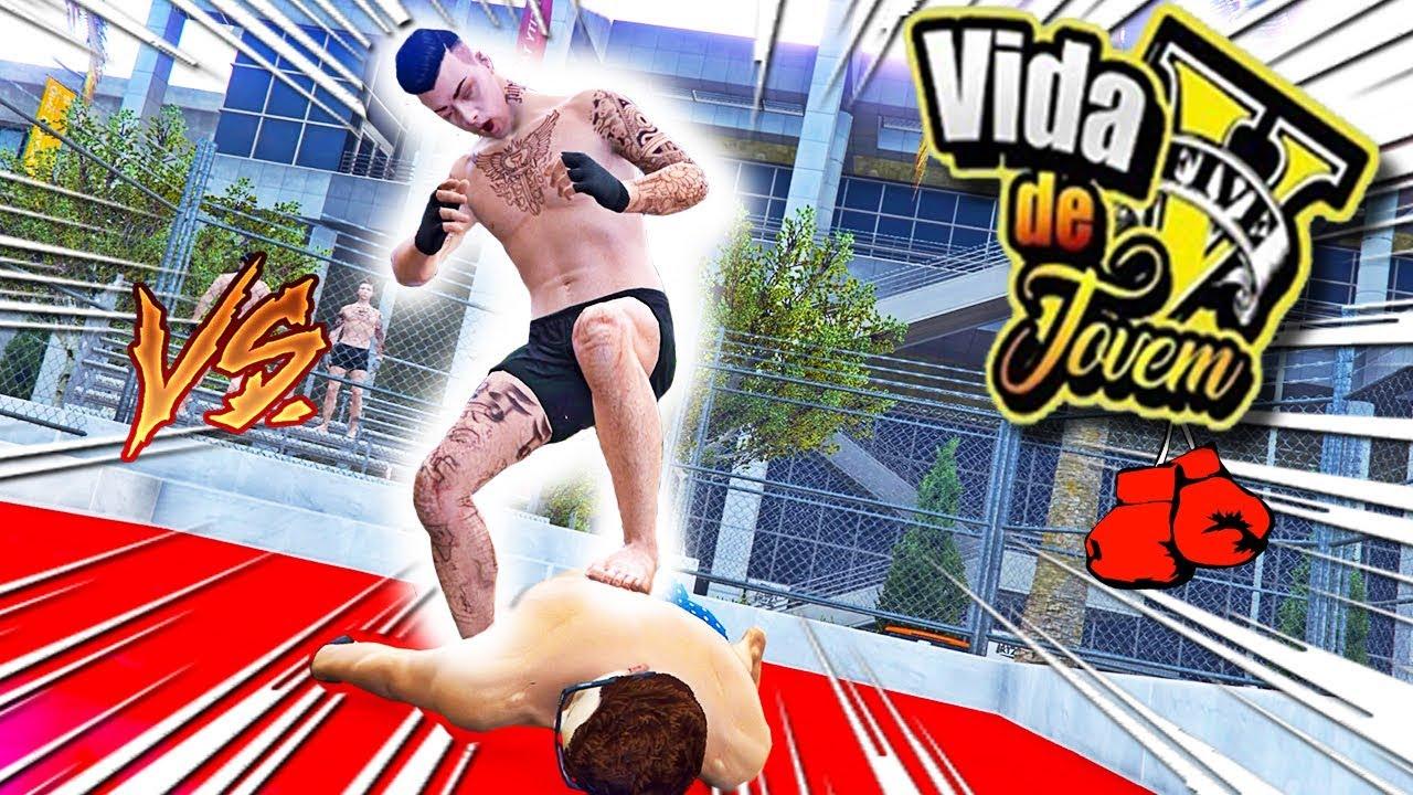 GTA V : VIDA DE JOVEM | CAMPEONATO DE BOXE COMEÇOU !