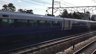 JR東日本E257系500番台(幕張車両センターNB-06編成)。