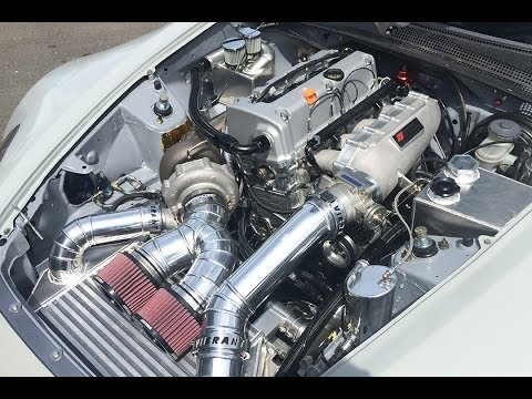 Formula Drift Honda S2000 - K24 Engine, Turbo Kit & Final Chassis Mods - Made to Drift Ep. 3