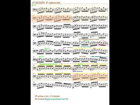 J. S. Bach: Cello Suite nº 1 BWV 1007- Prelude. Análisis Musical. Cello  Mischa Maisky