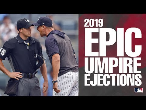 2019 Epic MLB Manager Ejections | MLB Highlights