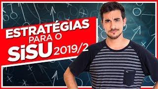 TUDO SOBRE O SISU 2019.2 - Estrategias Inscricoes Lista de Espera 1a e 2a Opcao