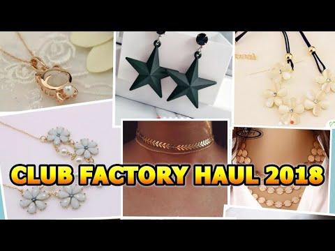 7c1c20fee8 CLUB FACTORY HAUL 2018! JEWELLERY haul💍📿❤ (Part 1)Review/Price ...