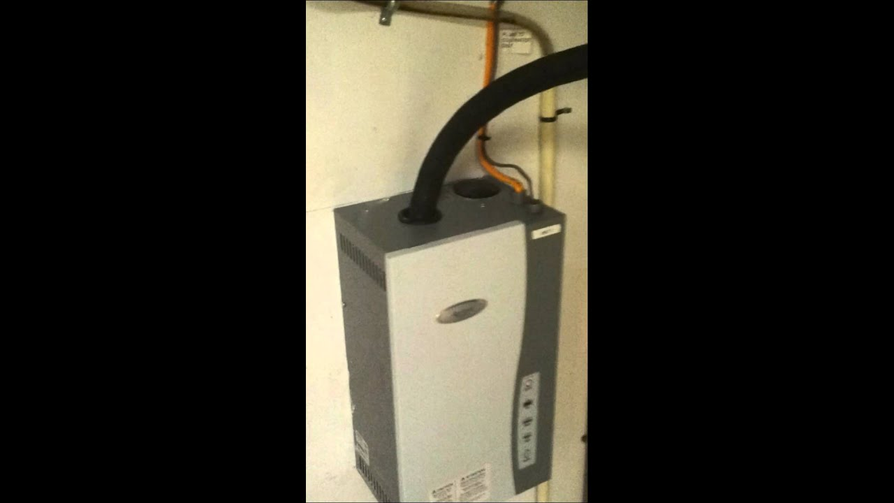 Aprilaire 800 Steam Humidifer Installation