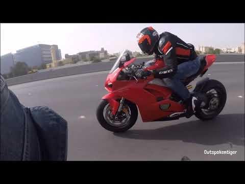 Ducati V4 Vs Ducati 1299 Vs Kawasaki H2 Vs BMW S1000RR Vs Kawasaki ZX10R