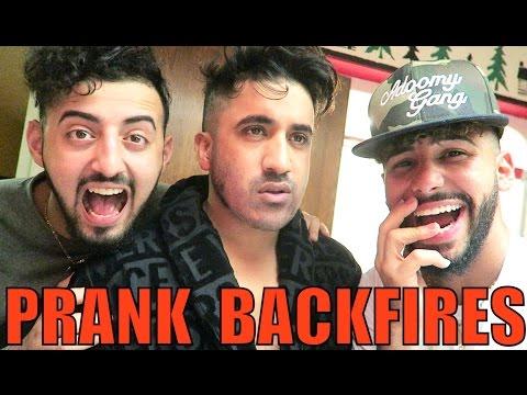 SHAVING BEARD PRANK BACKFIRES!!