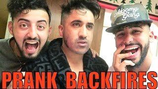 SHAVING BEARD PRANK BACKFIRES!!