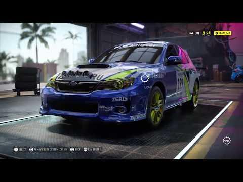Need For Speed Heat Gameplay - 900BHP Subaru Impreza WRX STI 2010 Rallycross (Max Build)