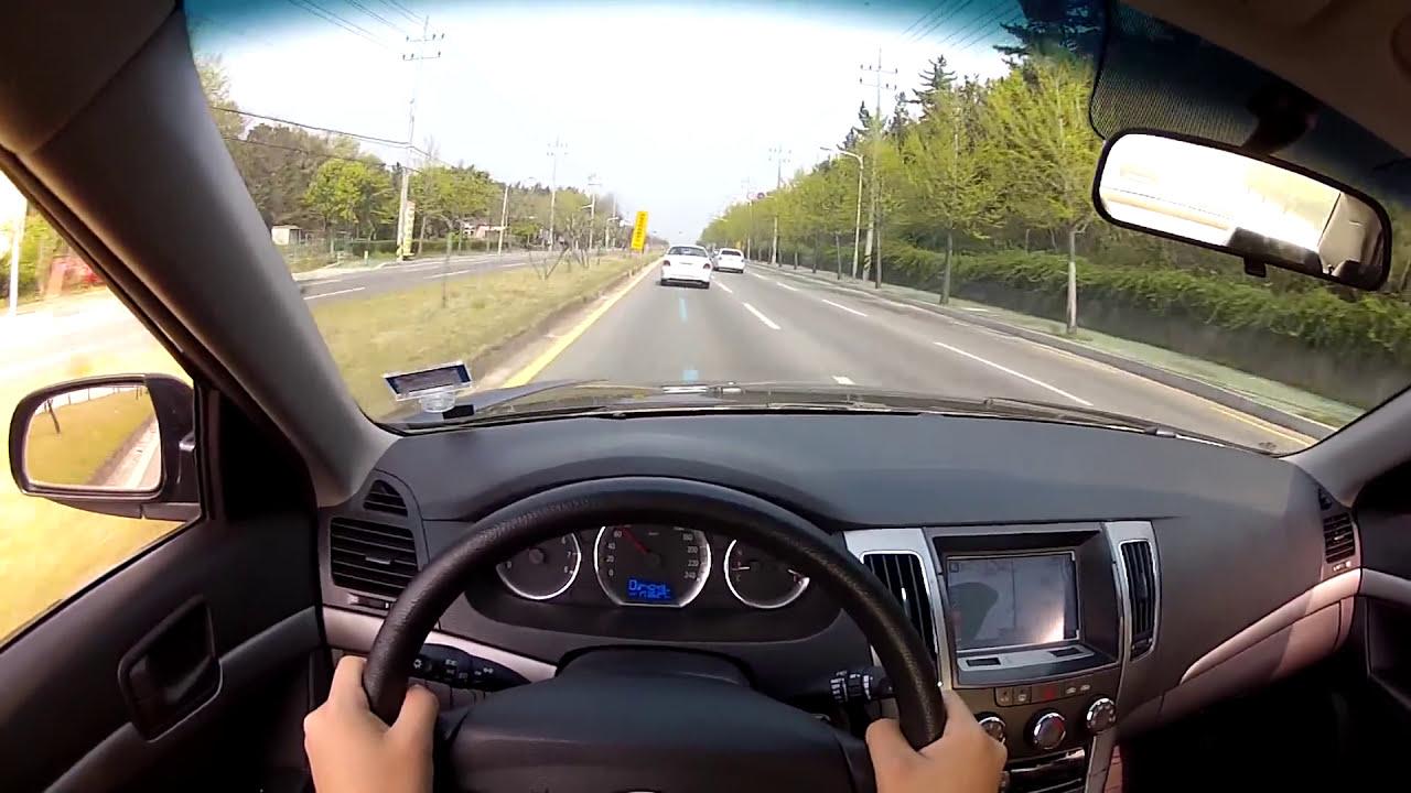2009 Hyundai Sonata Lpi Test Drive Youtube
