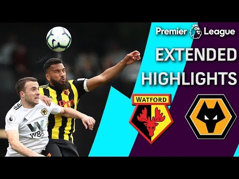 Wolves v. Watford | PREMIER LEAGUE EXTENDED HIGHLIGHTS | 4/27/19 | NBC Sports