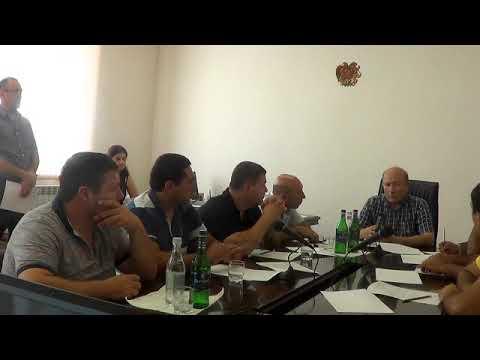 Բյուրեղավան համայնքի արտ. ավագանու նիստ, 15.07.201