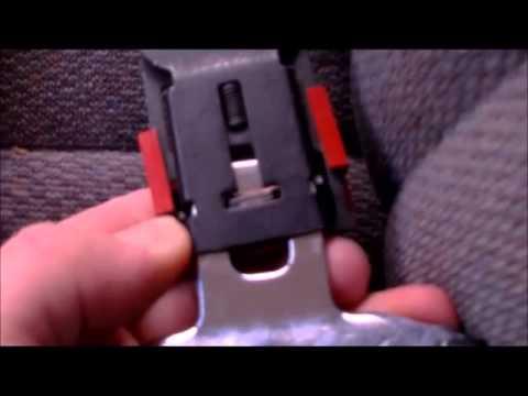How To Fix A Broken or Stuck Seat Belt  YouTube