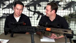 Airsoft GI - High End Guns VS. Upgraded Affordable Guns Discussion - Power Stroking and The SIG 552