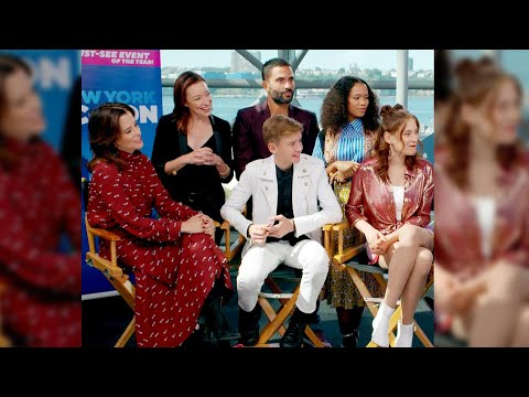 Lost in Space Cast | New York Comic Con 2019 (Full Interview)