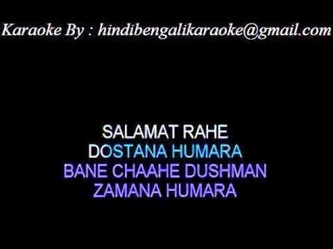 Bane Chaahe Dushman - Karaoke - Dostana - Kishore Kumar & Mohd. Rafi