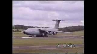 Extremely short take off Lockheed C-5 Galaxy America's biggest plane thumbnail