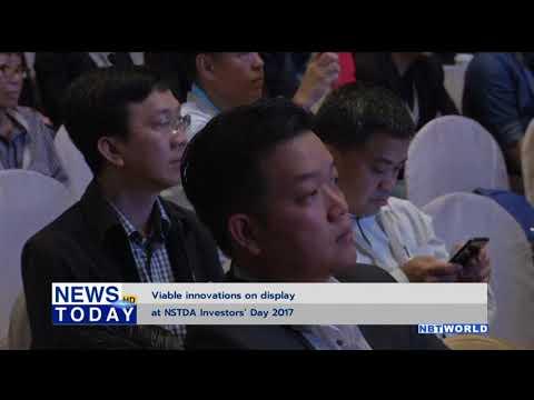 Viable innovations on display at NSTDA Investors' Day 2017
