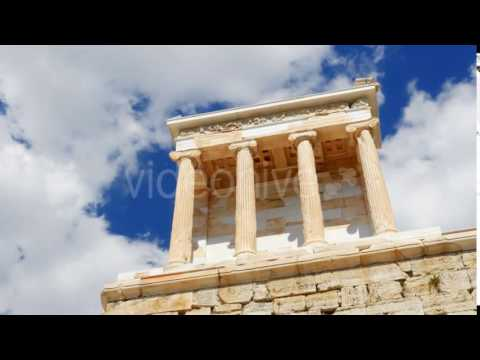 Travel View of Acropolis in Athens, Greece - Stock Footage | VideoHive 14367290