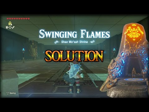 Shae Mo'sah Shrine Solution - Breath of the Wild