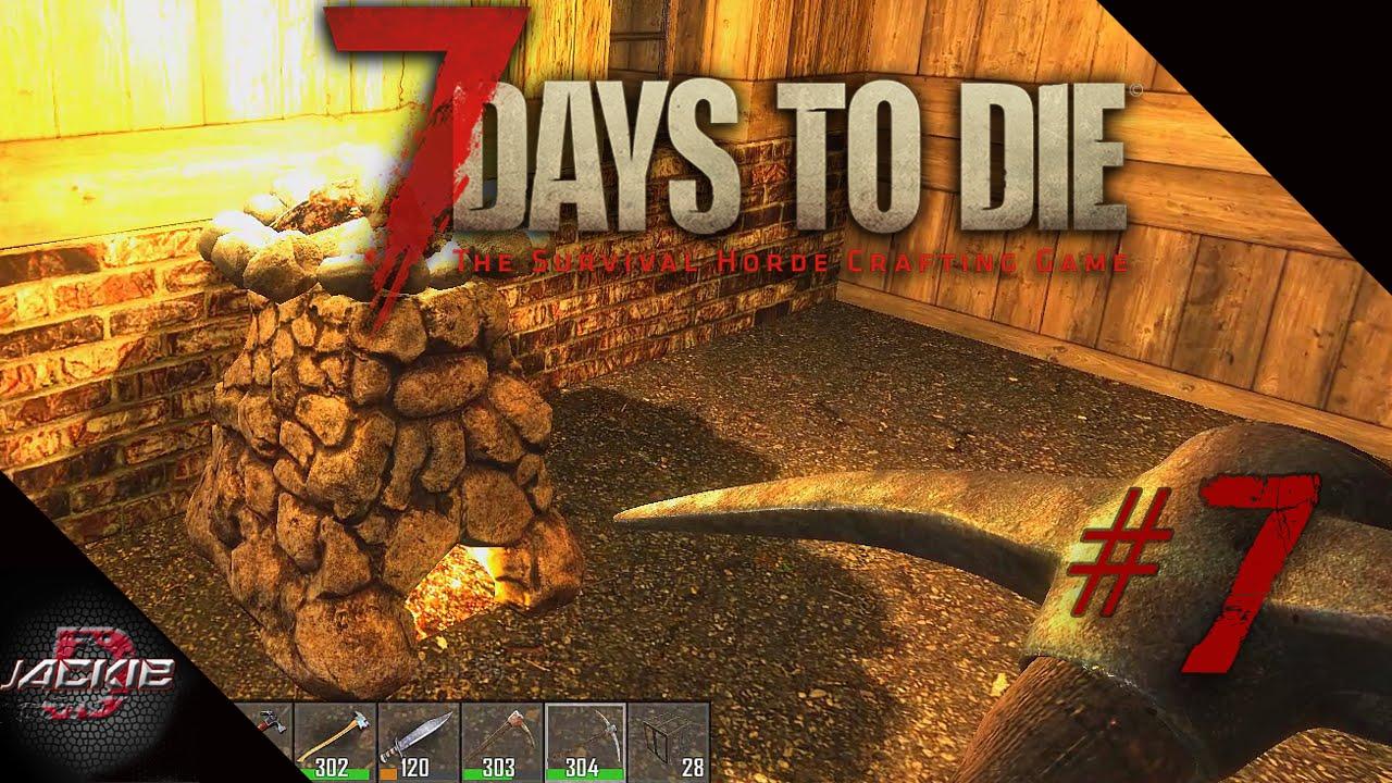 7 Days To Die Steel Pickaxe Steel Fire Axe 7 Days To Die Alpha 14 Gameplay Part 7