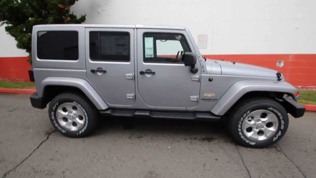 El147100 2014 Jeep Wrangler Unlimited Sahara