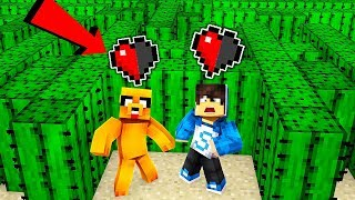 NOOBS ARE TROLLED IN HALF HEART WITH TROLLS TRAPS! 😂🌵MINECRAFT WITH MIKECRACK FLEXVEGA AND RAPTOR