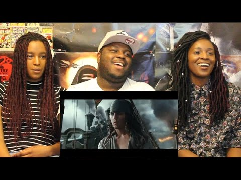 Pirates of the Caribbean: Dead Men Tell No Tales Trailer REACTION + THOUGHTS!!!
