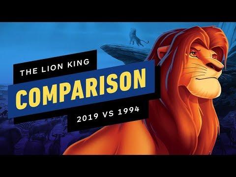 The Lion King Official Trailer Comparison - 2019 vs 1994 Mp3
