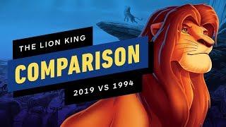 The Lion King Official Trailer Comparison - 2019 vs 1994