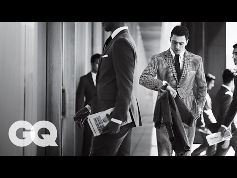 Kick-Ass Star Aaron Taylor-Johnson Wears the Best Suits for Fall 2013 - GQ Magazine - 동영상