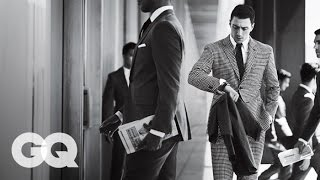 Kick-Ass Star Aaron Taylor-Johnson Wears the Best Suits for Fall 2013 — GQ Magazine