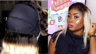HOW TO MAKE A PLATINUM BLONDE LACE FRONTAL WIG
