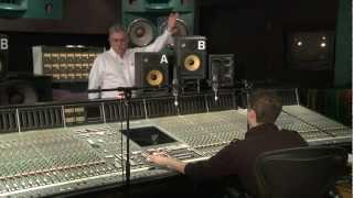 AMAZING IsoAcoustics Speaker Stand Isolation Demo at Metalworks Studios