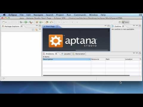 Apprendre HTML 5 - Installation Plug-in Aptana dans Eclipse