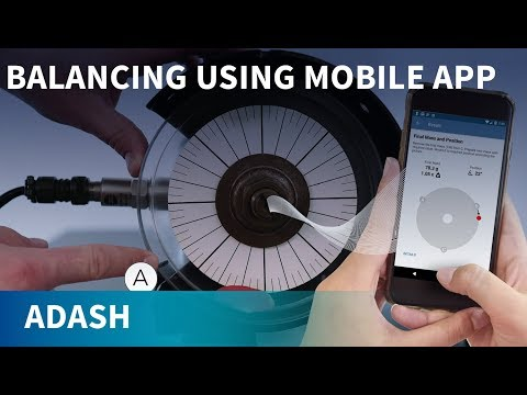 Easy Balancing With Vibration Meter And Mobile App