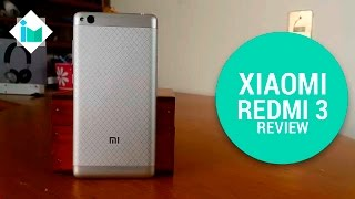 Xiaomi Redmi 3 - Review en español