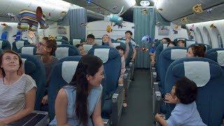 Những món quà yêu thương trên chuyến bay trung thu của Vietnam Airlines
